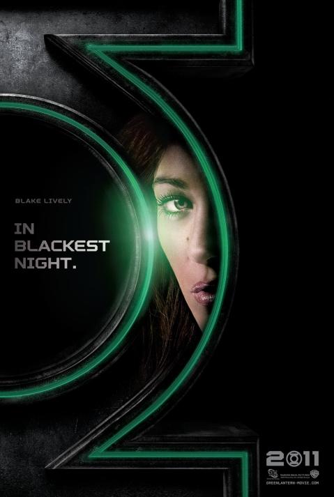 Hot Blake Lively as Carol Ferris Green Lantern Poster