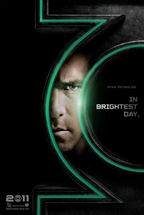 Ryan Reynolds as Hal Jordan Green Lantern Poster