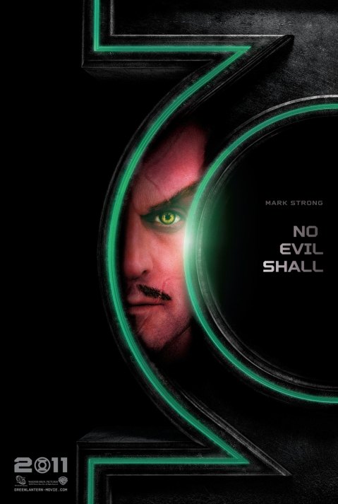 Mark Strong as Thaal Sinestro Green Lantern Poster