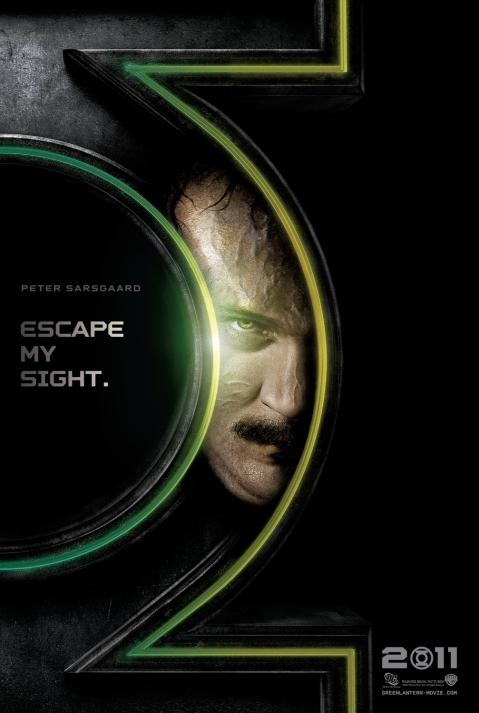Peter Sarsgaard as Hector Hammond Parallax Green Lantern Poster