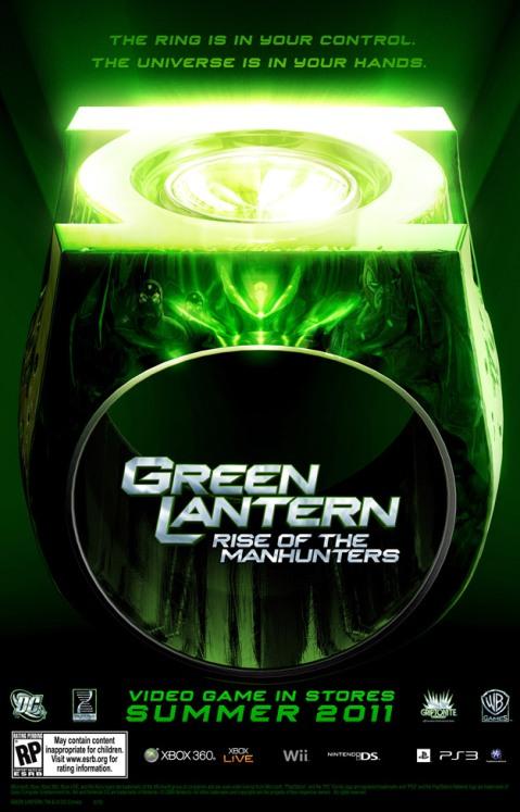 Green Lantern Rise of the Manhunters Game