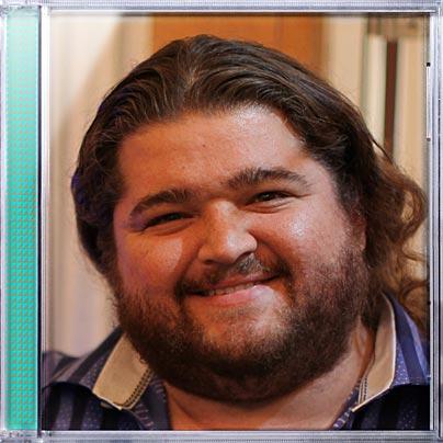Jorge Garcia on the cover of Weezer's Hurley Album