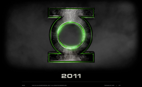 Green Lantern official site