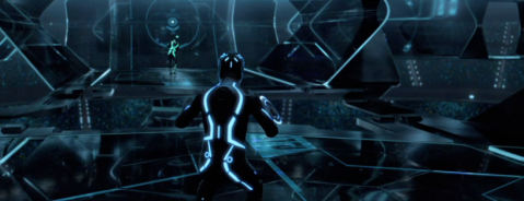 Tron Night Footage