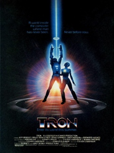 New Tron Legacy Poster
