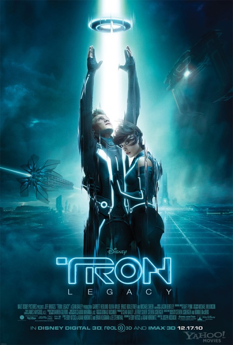 New Tron Legacy Theatrical Poster
