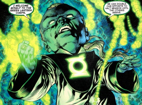 Green Lantern Ganthet