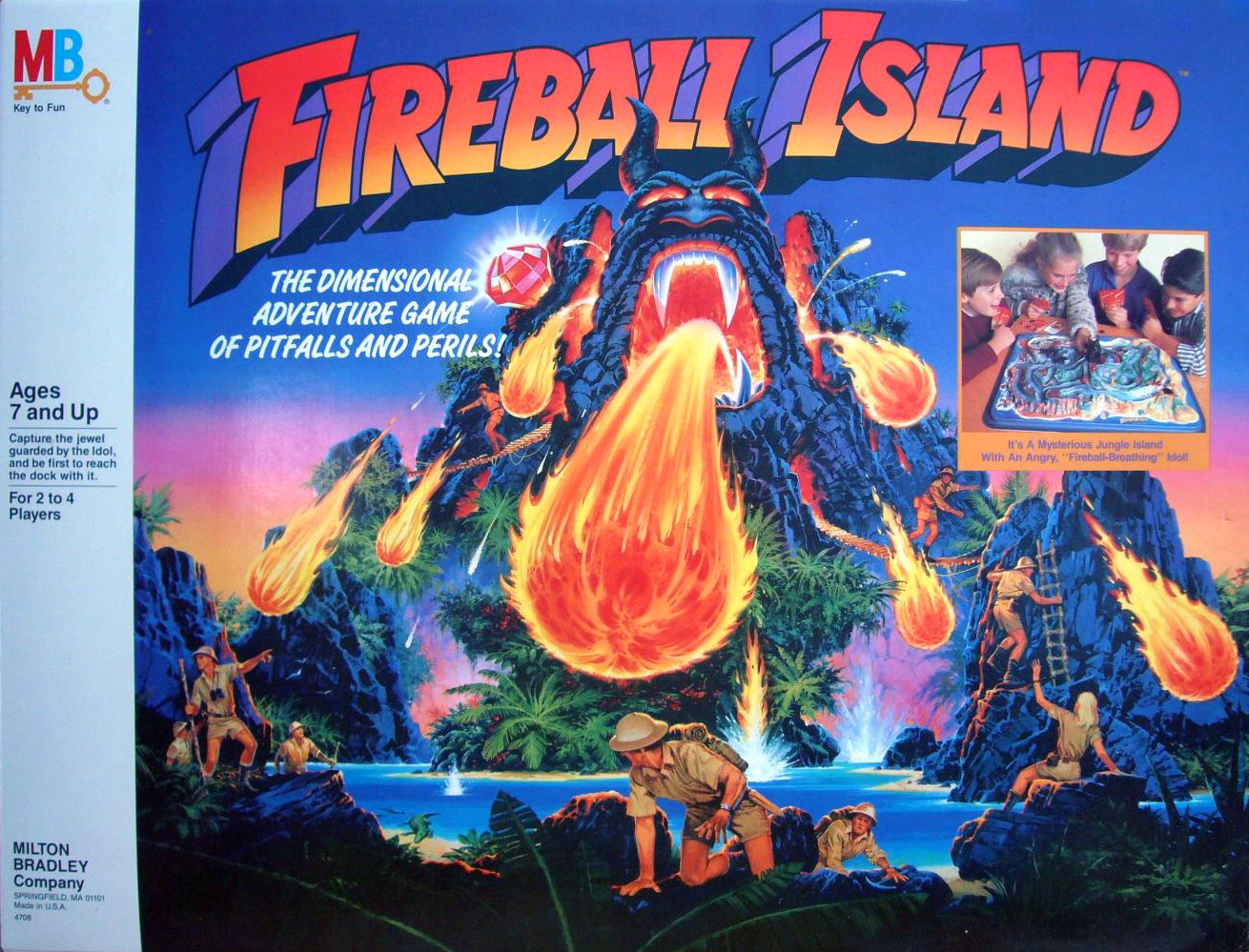 Fireball Island Board Game