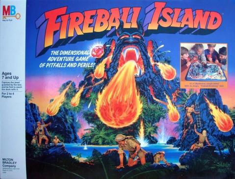 Fireball Island Milton Bradley
