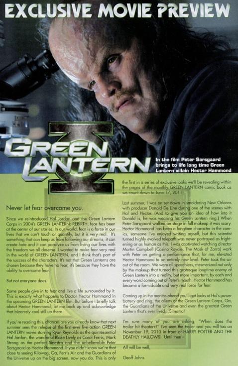 Green Lantern Hector Hammond Preview