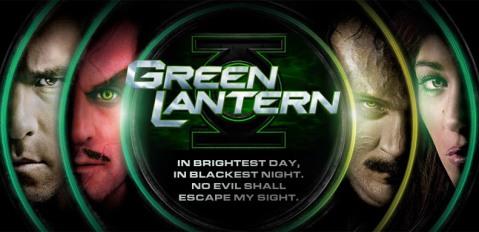 High Res Green Lantern Production Photos