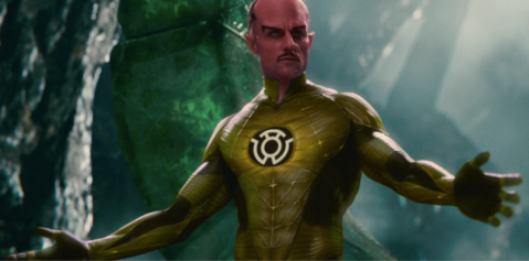 Sinestro Movie Yellow Costume