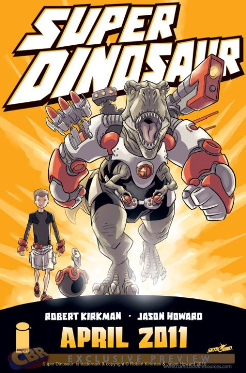 Robert Kirkman Jason Howard Super Dinosaur Image