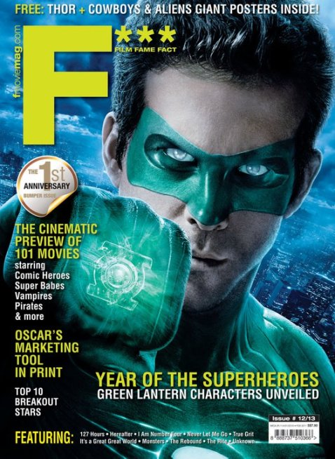 Green Lantern F*** MAGAZINE