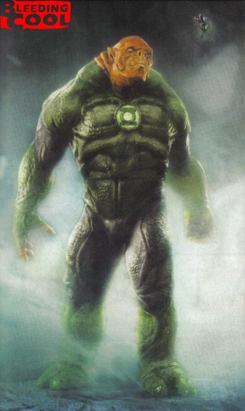 Kilowog Concept Art Green Lantern Movie
