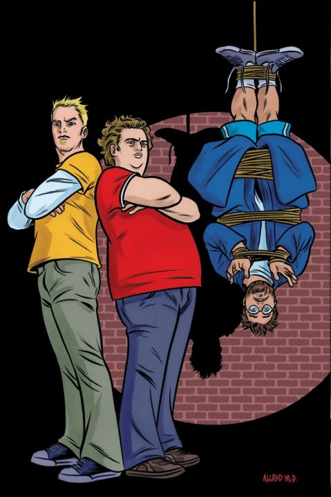 Kidnapping Kevin Smith Graphic Novel by Chad Blakely