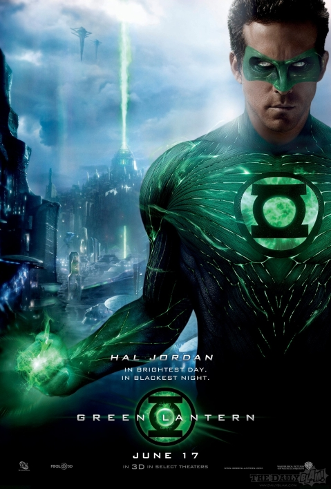 Official Green Lantern Poster Hi Res