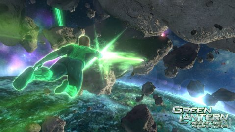 Green Lantern Rise of the Manhunters Trailer