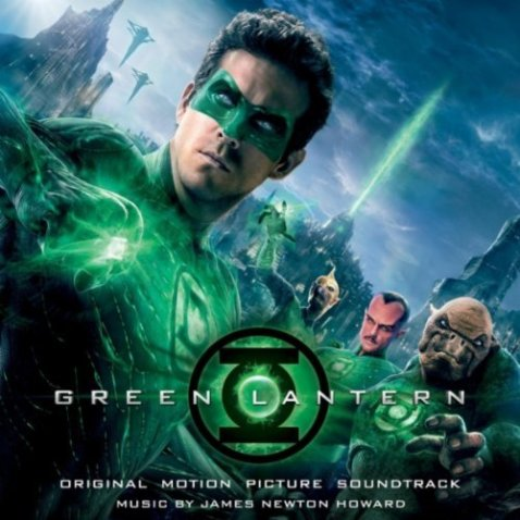 Green Lantern Soundtrack Album James Newton Howard Score