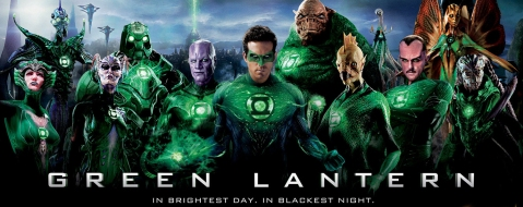 Green Lantern Movie banner