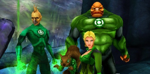 Green Lantern Rise of the Manhunters Nintendo 3DS Review