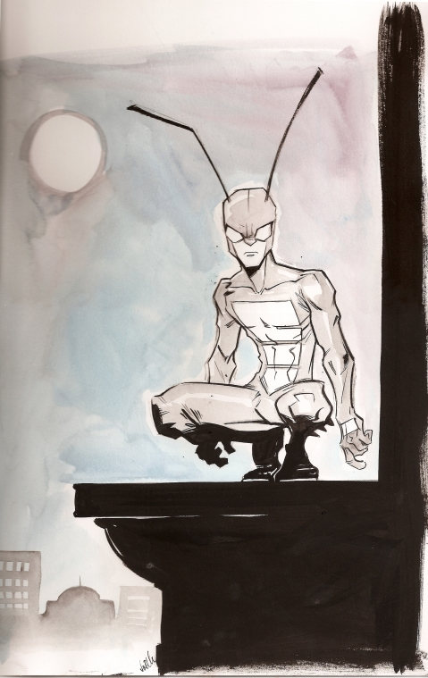 Joëlle Jones Cricket Sketch
