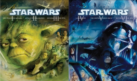 Blu Harvest Star Wars Blu-ray